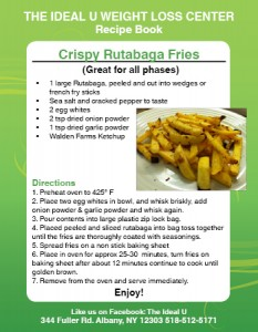 Crispy Rutabaga Fries