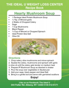 Hearty Mushroom Soup Recipe