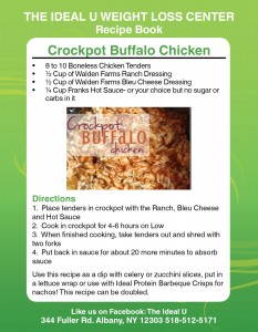 Crockpot Buffalo Chicken Recipe