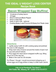 Bacon Wrapped Egg Muffins Recipe